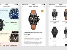 Watches Shop App