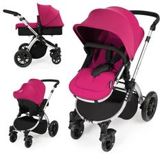Ickle Bubba Stomp V2 Silver Frame 3in1 Travel System-Pink  Description: Package Includes: Ickle Bubba lightweight aluminium Chassis Ickle Bubba Seat Unit Ickle Bubba Carrycot Ickle Bubba 0+ Infant Car Seat Ickle Bubba Car Seat Adapters Ickle Bubba Rain Cover The Stomp 3 in 1 travel system provides everything you'll need to get from a to b whilst...   http://simplybaby.org.uk/ickle-bubba-stomp-v2-silver-frame-3in1-travel-system-pink/