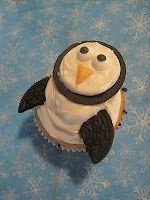 my feelings taste like cupcakes: Oreo Penguin Cupcakes