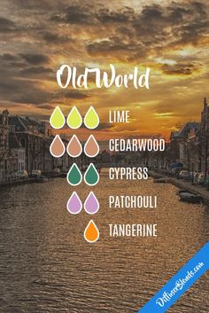 *Made it- smells good. Old World Diffuser Blends