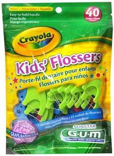 FREE Sunstar GUM Crayola Kids Flossers