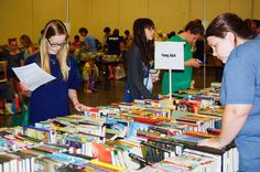 The Friends of the Abilene Public Library hosted their 26th Annual Book Sale with well over 100,000 items available for purchase.