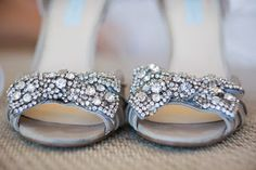 My Best Friend's Wedding | Glam, Glitter and Gold- betsey johnson wedding shoes