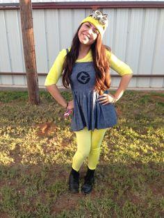Minion Costume!  sc 1 st  Pinterest & DIY Minion Costume | Pinterest | Diy minion costume Costumes and ...