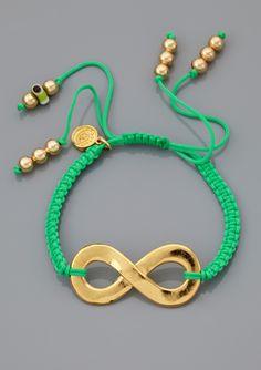 BLEE INARA Macrame Infinity Bracelet