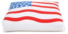 One Kings Lane - July 4th Blowout Sale - American Flag Print Dog Bed