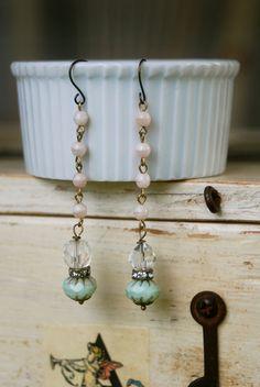 Kate.vintage crystal beaded pastel by tiedupmemories on Etsy, $18.00