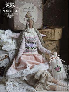 Куклы Тильды ручной работы. Ярмарка Мастеров - ручная работа Розмари. Handmade.