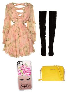 """""""Untitled #191"""" by susannhaabeth on Polyvore featuring Zimmermann, Christian Louboutin, Michael Kors and Casetify"""