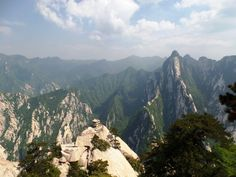 Visited HuaShan Mountain, ShaanXi China. 中国陕西华山