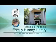DearMYRTLE's Genealogy Blog: Trip to Family History Library? Two videos and a map