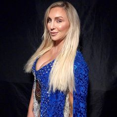 Watch me make 'em bow. Celebrity Dresses, Celebrity Photos, Womens Royal Rumble, Charlotte Flair Wwe, Wwe Girls, Wrestling Divas, Women's Wrestling, Raw Women's Champion, Wwe Womens
