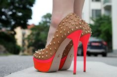 #Shoes #Red_Brown #Woman_Glam
