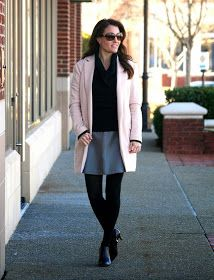 Tinley Road Leather skirt, Gray leather skirt, leather skirt