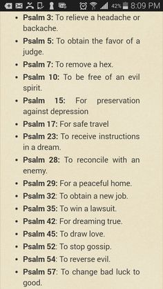Psalm To Conquer Everyday Issues