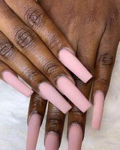Shapely nudes 🙌🏽🙌🏽 Another wish granted by Nikki the real nail genie 🧞‍♀️ 🔮🔮 located at Every Girls Dream Studio! Aycrlic Nails, Glam Nails, Nail Nail, Garra, Perfect Nails, Gorgeous Nails, Tapered Square Nails, Best Acrylic Nails, Long Square Acrylic Nails