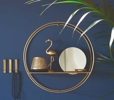 Are you interested in our round gold mirror with shelf? With our bathroom storage and towel rail you need look no further.