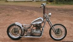 Chopper - All about the Awesome Yamaha Motorcycle. Tons of bobber & Chopper pics. Xs650 Bobber, Bobber Bikes, Bobber Chopper, Honda Motorcycle Parts, Bobber Motorcycle, Chopper Frames, Mini Chopper, Old School Chopper, Motorbike Design