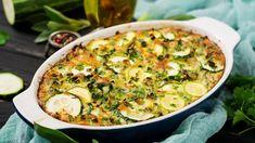 Rýchla zapekaná cuketa so syrom | Recepty.sk Ratatouille, Quiche, Instant Pot, Macaroni And Cheese, Zucchini, Nom Nom, Vegetables, Cooking, Breakfast