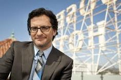 Ben Mankiewicz, weekend host at TCM.  http://www.tcm.com/this-month/article/35501|34402/Ben-Mankiewicz-Biography.html