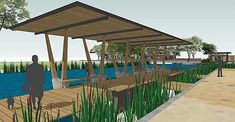 Architects of grocery stores, townhouses, and adaptively reusedkayak rental places Lake Flato are now trying their hands at Houstonpark pavilions.These renderings appeared on the San Antonio firm's blog late last week, giving an early look at