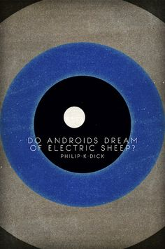 Do Androids Dream of Electric Sheep - Philip K Dick - cover design. by Nick Caro - Photography, via Flickr