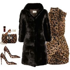 """""""Furs AreEverything This Fall !!! Styled For Diva Jessa Peterson"""" by stylesbypdc on Polyvore"""