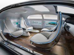 Le luxe en mouvement: Véhicule de recherche Mercedes-Benz F 015