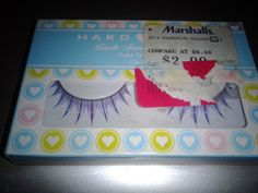 Hard candy lashes, never used (afraid to use them) multi colored