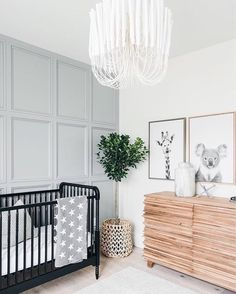 Bohemian Nursery Decor: 10 Gorgeous Rooms With Shoppable Links /// By Design Fixation Bohemian Nursery Decor: 10 prachtige kamers met shoppable links /// By Design Fixation Baby Room Decor, Bedroom Decor, Bedroom Lighting, Bedroom Lamps, Nursery Room Ideas, Nursery Nook, Light Bedroom, Chic Nursery, Nursery Modern