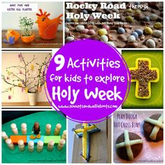 9 Activities for Kids to Explore Holy Week