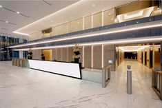 Office Building Lobby, Office Lobby, Lobbies, Reception, Stairs, Lounge, Bedroom, Interior, Design