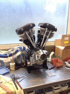 Tricana Motorcycles Shovelhead rebuild Espresso Machine, Coffee Maker, Motorcycles, Kitchen Appliances, Espresso Coffee Machine, Coffee Maker Machine, Diy Kitchen Appliances, Coffee Percolator, Home Appliances