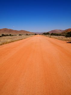 Dirt road in Namibia BelAfrique - Your Personal Travel Planner www.belafrique.co.za