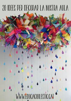 20 idees per decorar la nostra aula