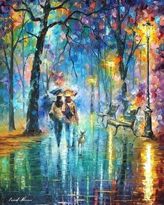 Amazingly Bright and Colorful Oil Painted Landscapes