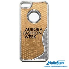 Give the gift of #bling this holiday season! This shimmering iPhone case will be a hit with your female employees.  #corporategifts #iphonecase #sparkle #christmas #gold #silver #promotionalproducts