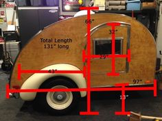 I wanted to show you this all wood hand built teardrop camper for sale finished in 2013. It was a six year project even the trailer frame was custom built. Built with one inch birch wood that&#8217…