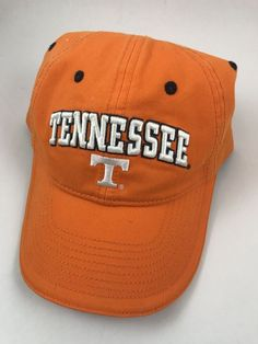 af5def51158 University Tennessee Volunteers Vols Knoxville Strapback Hat Baseball Cap   HeadwearbytheGame  TennesseeVolunteers University Tennessee