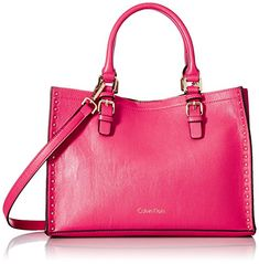 Calvin Klein Unlined Novelty Casual Tote Miami Pink *** Visit the image link more details. (This is an affiliate link)
