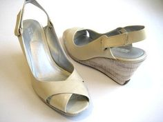 http://fbfanpages.us/pinnable-post/kenneth-cole-reaction-let-it-knock-leather-vanilla-wedge-women-shoes-size-8-m/  Open-toed slingback.  Slingback-style.  Adjustable hook-and-loop closure at the ankle.  The moderate rubber wedge and subtle platform sport a breezy look that's totally walkable.  Pair these classy sandals with cropped pants and a tailored blouse for a put-together casual look.  Patent leather upper