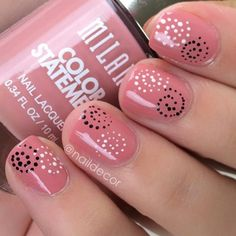 21 Easy Nail Designs For Short Nails You Should Try Right Now - Cute Nails - Diy Nail Designs, Gel Designs, Simple Nail Art Designs, Short Nail Designs, Nail Designs Spring, Easy Nail Art, Tribal Nails, Short Nails Art, Simple Nails