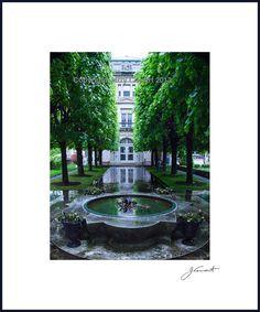 Rockefeller Estate Fountain Fine art by PhotosbyJerryCowart, $26.50