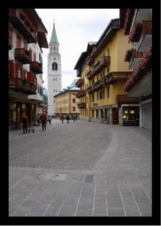 Cortina Italy  where we lived for one month