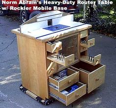 Free Router Table Plans Norm Abrams router table