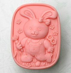 Rabbite with Carrot Soap Mold Soap Mould Handmade Animal Soap Molds Candle Mold Handmade Candles, Diy Candles, Soap Molds, Silicone Molds, Carrot Soap, Mod Melts, Soap Carving, Popular Crafts, Candle Molds