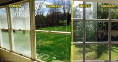 cam temizliği için harika yöntem