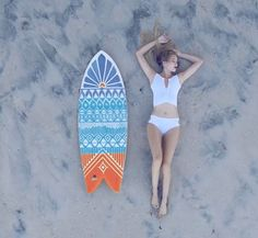 Hey, I found this really awesome Etsy listing at https://www.etsy.com/listing/190384844/tribal-hand-painted-surfboard