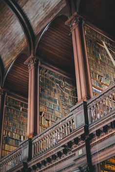 Trinity College Library, Dublin, Ireland #travel #wonderlust