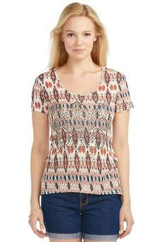 Cato Fashions Hours In Dover Delaware Cato Fashions Studded Ikat Tee
